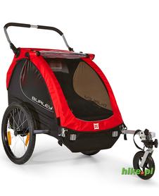 rowerowa przyczepka dla dziecka Burley Honey Bee czerwona