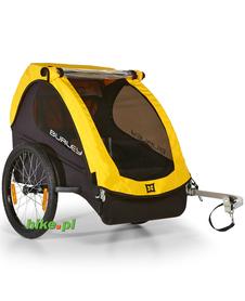 rowerowa przyczepka dla dziecka Burley Bee żółta