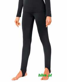 damskie legginsy z podpiętką gWinner Foot Strap Leggins Comfort Line czarne
