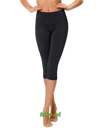 damskie legginsy 3/4 wyszczuplające gWinner Shape & Slim Capri Climaline czarne