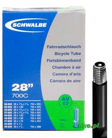 dętka rowerowa Schwalbe Standart 28 cali 28-47 mm wentyl samochodow