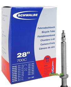 dętka rowerowa Schwalbe Standart 28 cali 28-47 mm wentyl Presta