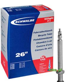 dętka rowerowa Schwalbe Extra Light 26 cali 20-25mm wentyl Presta