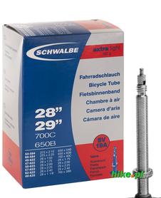 dętka rowerowa Schwalbe Extra Light 28 29 cali 40-62mm wentyl Presta