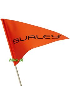 flaga do przyczepki Burley Flag Kit pomarańczowa
