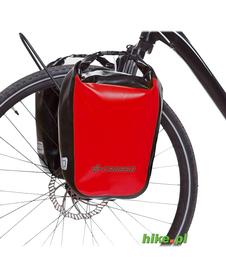 sakwy rowerowe Crosso Dry Small 30 L czerwone