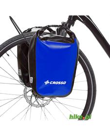 sakwy rowerowe Crosso Dry Small 30 L niebieskie