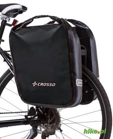 tylne sakwy rowerowe Crosso Dry Big 60 L czarne