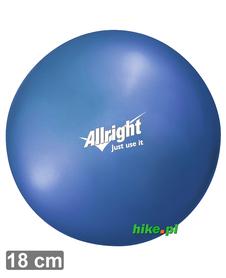 piłka gimnastyczna do ćwiczeń Allright Over Ball 18 cm niebieska
