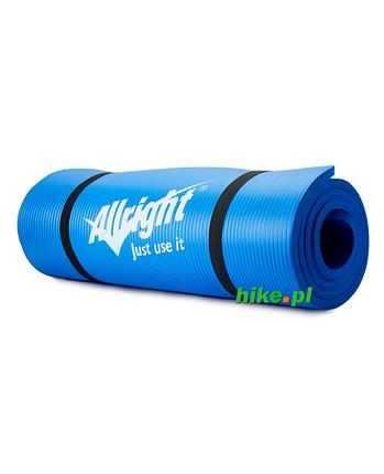 mata do fitness Allright Fitness NBR niebieska 140 cm.