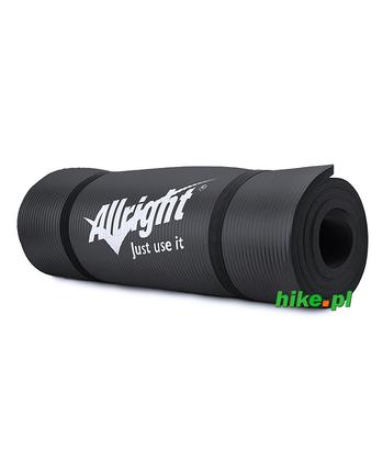 mata do fitness Allright Fitness NBR czarna 180 cm