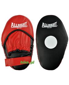 łapa trenera Allright czerwono-czarna