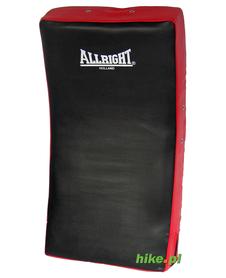 duża tarcza treningowa Allright czerwono-czarna