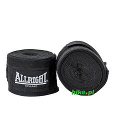 bandaż bokserski Allright czarny