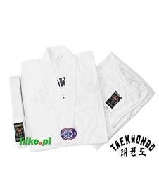 strój do taekwondo Allright WTF biały