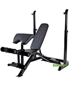 ławka do ćwiczeń z stojakiem Marcy BE3000