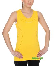 damski bezrękawnik Brubeck Athletic żółty