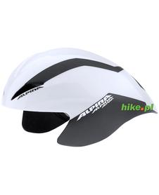 kask rowerowy Alpina Elexxion TT biało-czarny