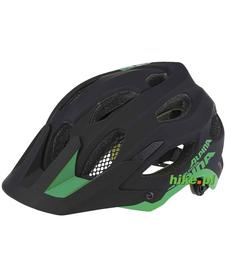 kask enduro Alpina Carapax czarno-zielony