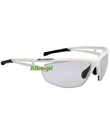 okulary sportowe Alpina Eye-5 HR VL+ białe matowe