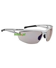 okulary sportowe Alpina Eye-5 HR WLM+ srebrne