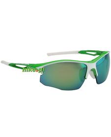 okulary sportowe Alpina Sorcery HR CM+ zielono-białe