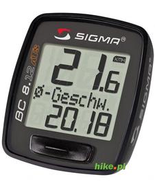 licznik rowerowy Sigma Topline BC 8.12 ATS czarny