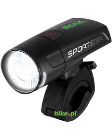 przednia lampka rowerowa Sigma Sportster czarna