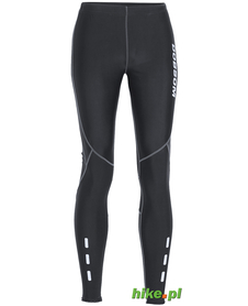 damskie legginsy do biegania Dobsom Bilbao czarne