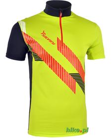 męska koszulka rowerowa Silvini Fino zielona