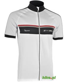 męska koszulka rowerowa Silvini Accrone biała