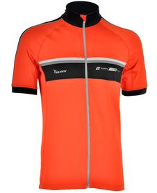 męska koszulka rowerowa Silvini Accrone pomarańczowa