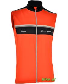 męski bezrękawnik rowerowy Silvini Adamello pomarańczowy