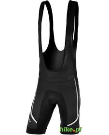 męskie spodenki rowerowe na szelkach Silvini Salia czarne