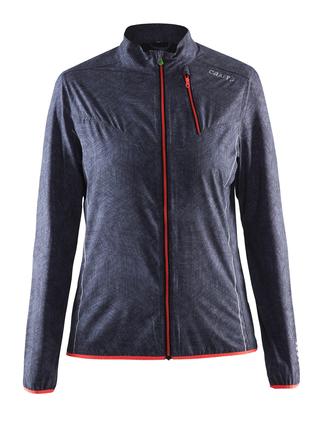 Craft Mind Jacket - damska kurtka do biegania - czarna rozm. M