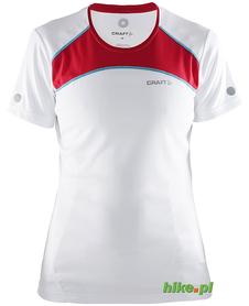 Craft Devotion SS Shirts - damska koszulka do biegania - biała SS15