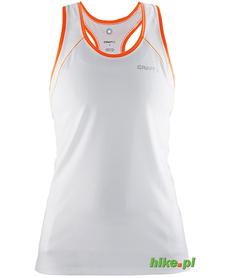 Craft Devotion Singlet - damski bezrękawnik do biegania - biały SS15