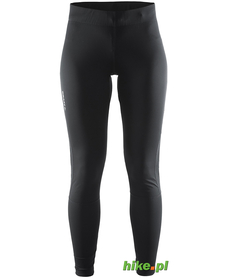 Craft Prime Tights - damskie legginsy do biegania - czarne SS15