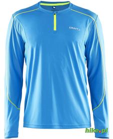 Craft Devotion LS Shirt - męska koszulka do biegania - niebieska SS15