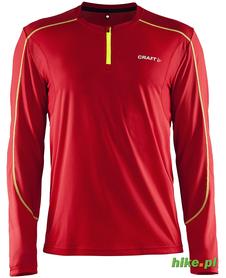 Craft Devotion LS Shirt - męska koszulka do biegania - czerwona SS15