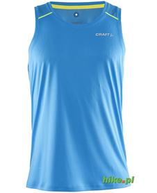 Craft Devotion Singlet - męski bezrękawnik do biegania - niebieski SS15