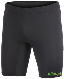 Craft Devotion Short Tights - męskie szorty do biegania - czarne-limonka