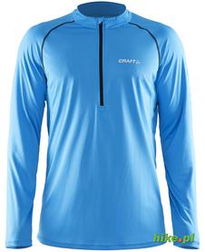 Craft Prime LS Tee - męska bluza do biegania - jasnoniebieska
