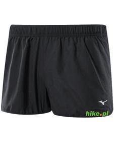 Mizuno Premium Split 1.5 - męskie szorty do biegania - czarne