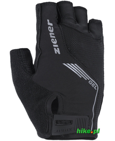 Ziener Cavel - rękawiczki rowerowe czarne