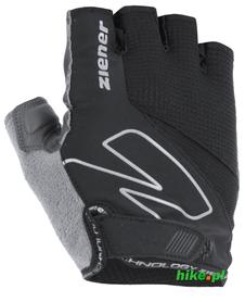 Ziener Crave - męskie rękawiczki rowerowe - czarne