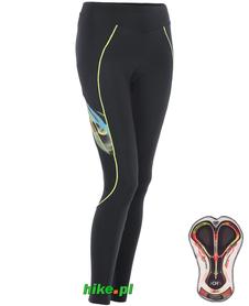 Berkner Debra - damskie spodnie rowerowe - czarne