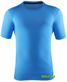 Craft Cool Seamless Short Sleeve - męska koszulka - niebieska SS15