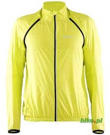 Craft Patch Convert Jacket - męska kurtka rowerowa - żółty fluorescencyjny SS15