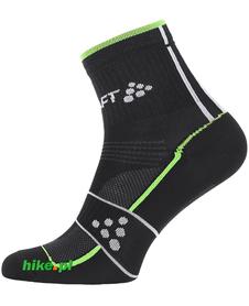 Craft Grand Tour Bike Sock - skarpety rowerowe - czarno-zielone